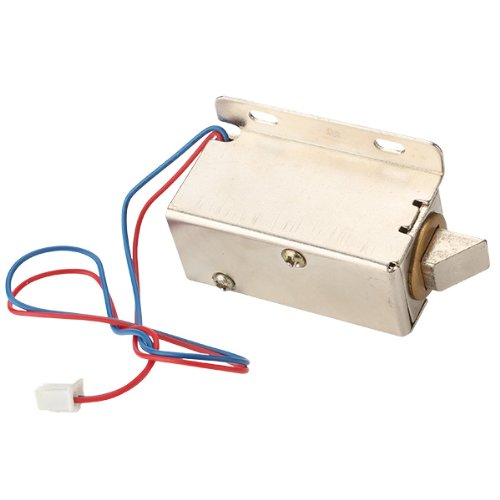 Lock Tongue Upward Luggage Solenoid Electric Lock Assembly 12V Tfs-A21