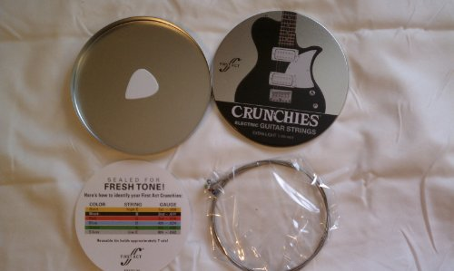 Crunchies Electric Guitar Strings Extra Light (.009-.042)
