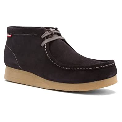 Clarks Stinson Hi Shoe Blue 12