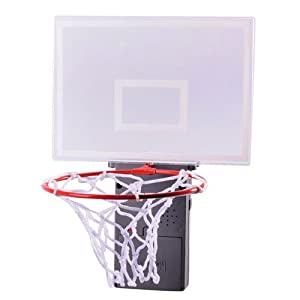 Metro shop cheering basketball trash can toy office hoop for home office relaxing - Garbage can basketball hoop ...