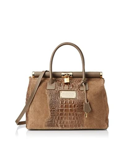 Valentino Bags by Mario Valentino Women's Simone Satchel, Taupe