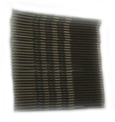 Carte de 36 Grips brun foncé cheveux Kirby. Tout neuf. longueur 4.5cm