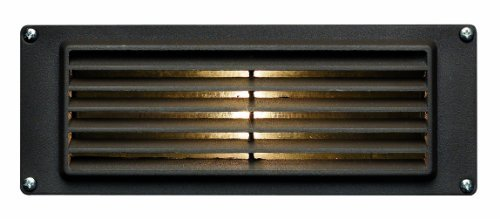 Hinkley Lighting 1594Bz-Led Louvered Led Brick Light With 1.5-Watt 12-Volt Led Light Source, Bronze Powder Coat Color: Bronze Powder Coat Outdoor/Garden/Yard Maintenance (Patio & Lawn Upkeep)