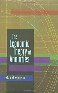 The Economic Theory of Annuities download ebook