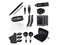 Hot Sale DreamGEAR Nintendo 3DS XL 20 in 1 Essentials Kit - Black