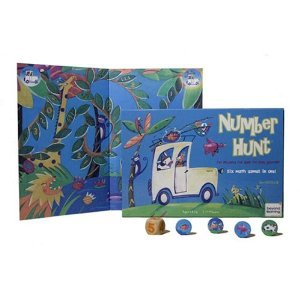 Number Hunt Eco-Friendly Board Game