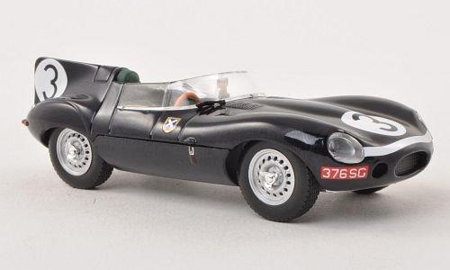 Jaguar D-Type, No.3, Ecurie Ecosse, 24H Le Mans , 1957, Modellauto, Ready-Made, Ixo 1:43