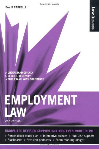 law-express-employment-law-revision-guide-by-david-cabrelli-2009-08-03