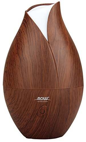 Now Foods Ultrasonic Wood Grain Oil Diffuser (Flower Shaped Air Freshener compare prices)