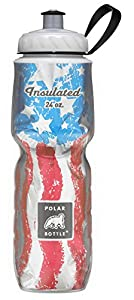 Polar Bottle Insulated Water Bottle (Star Spangled) (24 oz) - 100% BPA-Free Water Bottle - Perfect Cycling or Sports Water Bottle - Dishwasher & Freezer Safe