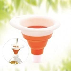 Collapsable Silicone Funnel by Burgeon Dynamics