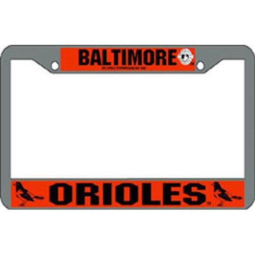 USA Wholesaler - Ric2CLP-Bal - Baltimore Orioles MLB Chrome License Plate Frame at Amazon.com