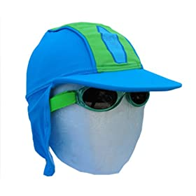 MaxOut UPF 50+, UV Protective Legionnaire Hats for Infant and Toddler Boys