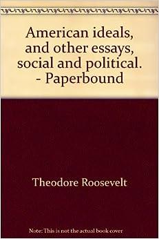 Allegany American Ideal Roosevelt