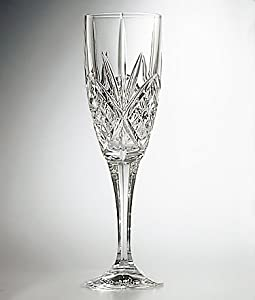 Godinger Dublin Crystal Champagne Flutes Set of 4 by Godinger