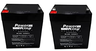 Razor E100 E125 E150 Electric Scooter battery 12V 5AH - 2 Pack by Beiter DC Power