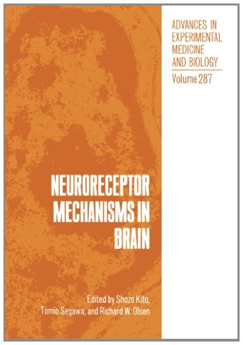 Neuroreceptor Mechanisms In Brain (Advances In Experimental Medicine And Biology)