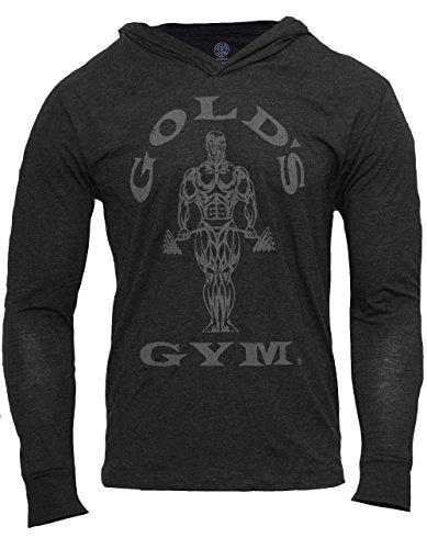 golds-gym-mens-muscle-joes-tri-blend-hoodie-black-sweatshirt-sweater-hoodie-m