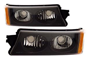 Chevrolet Silverado 2500 HD 2005 Bumper Lights Black (Fits: Base Crew Cab Pickup 4-Door)