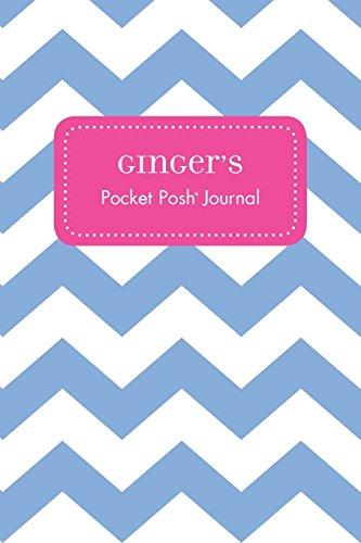 Ginger's Pocket Posh Journal, Chevron