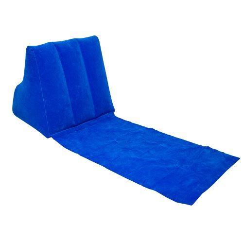 wickedwedge chaise gonflable de plage et de loisirs bleu mobilier de camping chaises. Black Bedroom Furniture Sets. Home Design Ideas