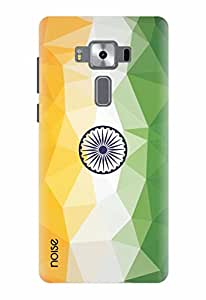 Noise Designer Printed Case / Cover for Asus Zenfone 3 Deluxe ZS570KL with 5.7 Inch screen size/ Patterns & Ethnic / Tiranga Design