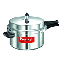 Prestige Popular Aluminium Pressure Cooker, 7.5 Litres