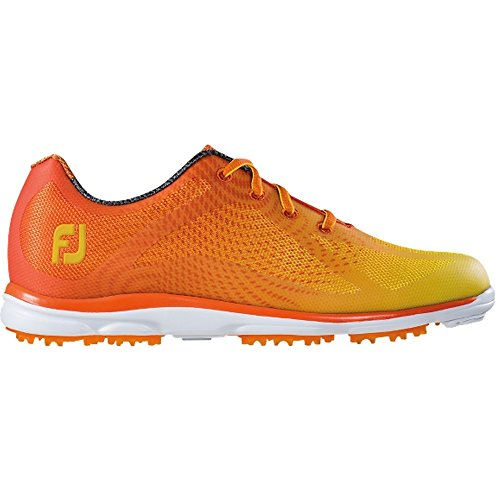 FootJoy Women's emPower Golf Shoes, Close-out (8 B(M) US, Orange / Yellow 98005)