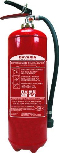 Bavaria-BASB6-Feuerlscher-Schaumlscher-mit-Manometer-6-L