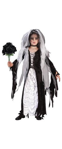 Fun World Girls Coffin Bride Child Costume