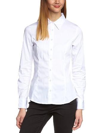VERO MODA Damen Bluse, 10074424, Gr. 36 (S), Wei (OPT.WHITE)
