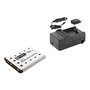 Nikon S80 Digital Camera Accessory Kit includes: SDENEL10 Battery, SDM-165 Charger