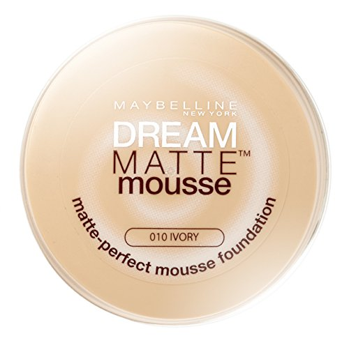 Maybelline Dream, Fondotinta compatto in mousse, Ivory 18, ml 10