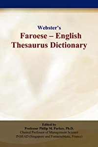 Websters Faroese - English Thesaurus Dictionary