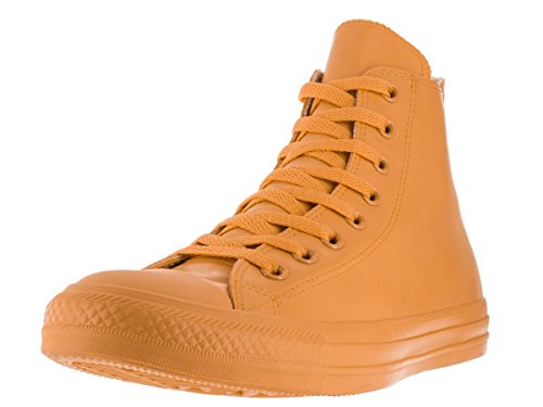 CONVERSE Unisex Chuck Taylor Rubber Rain Boot Sneaker (Wild Honey Yellow 9.5 M)