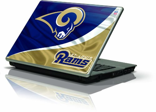 "Skinit Protective Skin (Fits Latest Generic 10"" Laptop/Netbook/Notebook); NFL St. Louis Rams Logo at Amazon.com"