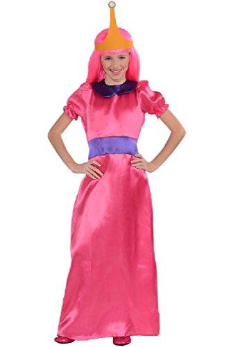 [8eighteen Candy Kingdom Princess Bubblegum Child Costume] (Spartan Princess Costumes)