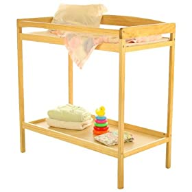 Dream On Me Classic Changing Table, Natural: Baby