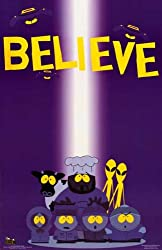 South Park Believe Aliens Cartman Chef 22x34 Poster