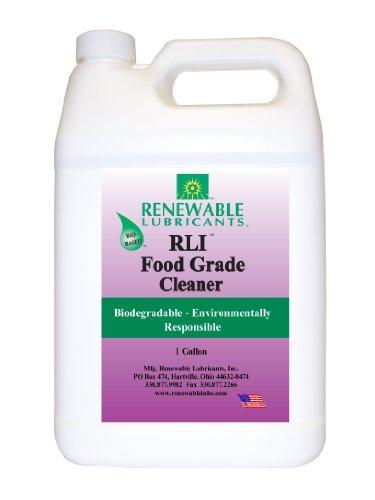Renewable Lubricants Food Grade Cleaner, 1 Gallon Bottle front-164307
