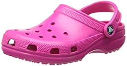 crocs Unisex Classic Clog,Candy Pink,6 US Men\'s / 8 US Women\'s