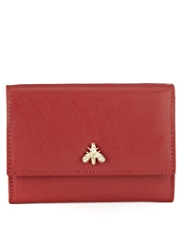 M&S Collection Leather Bee Purse
