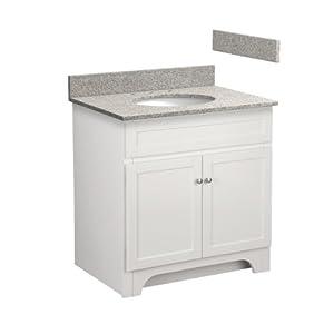 Foremost COWAT3021-8M 30-Inch Columbia Bathroom Vanity ...