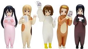 Kigurumi Ho-kago Tea Time Set (PVC Figure) Wave K-on! [JAPAN] (japan import)
