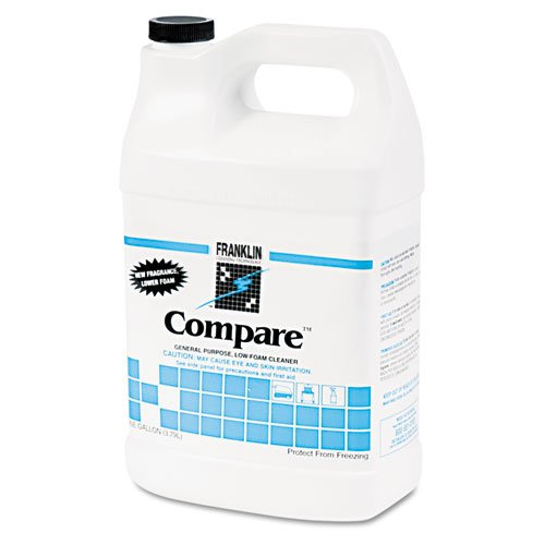 Franklin Cleaning Technology® – Compare Floor Cleaner, 1 gal Bottle, 4/Carton – Sold As 1 Carton – Triple-action, heavy-duty neutral cleaner.