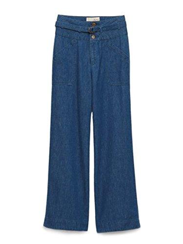 Lily Brown(リリーブラウン)ワイドデニムパンツ : 服&ファッション小物通販 | Amazon.co.jp