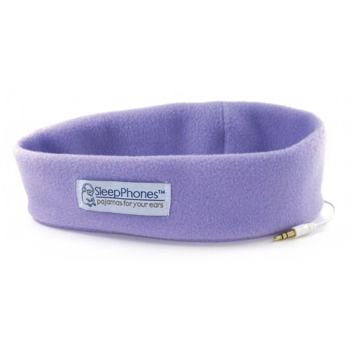 Acousticsheep Sleepphones Classic Sleep Headphones - Frustration-Free Packaging (Lavender, Extra Large)