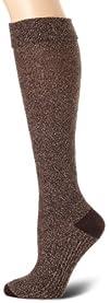 Goodhew Womens Highlander Pebble Stitch Knee-Hi Sock