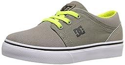 DC Trase Slip Skate Shoe (Toddler), Taupe, 8 M US Toddler