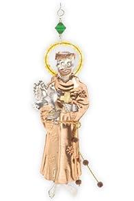 Pilgrim Imports Saint Francis Fair Trade Ornament